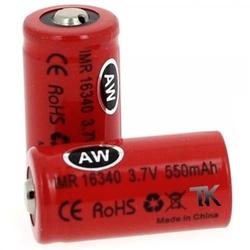 AW IMR 16340 - 550 mAh