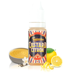 Custard Citron - Liquideo Tentation