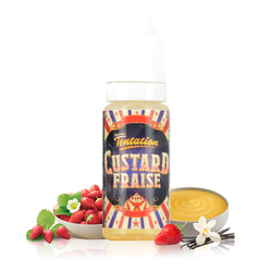 Custard Fraise - Liquideo Tentation