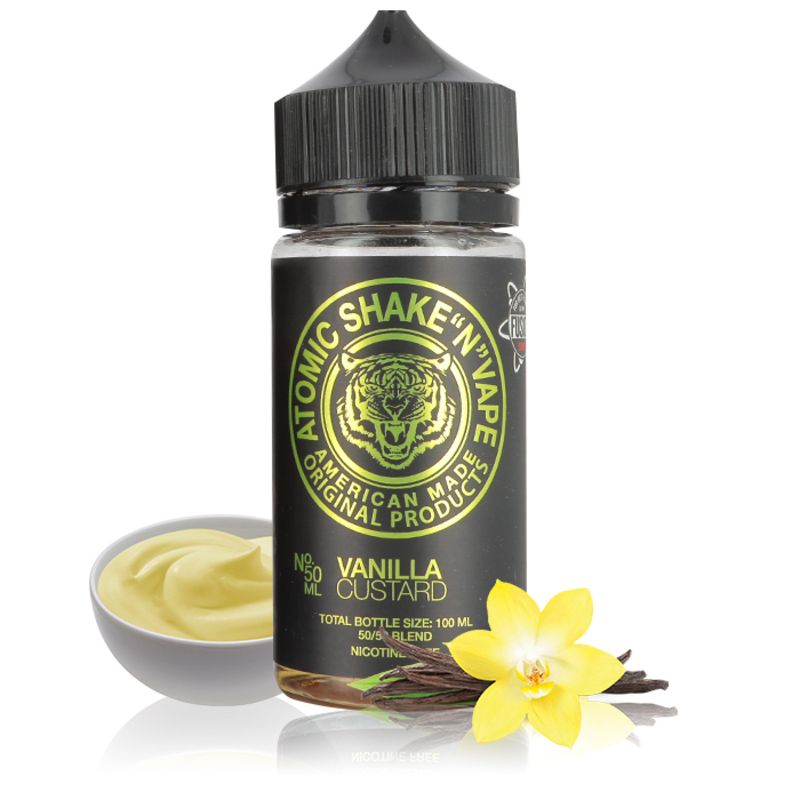 Vanilla Custard 50ml - Atomic