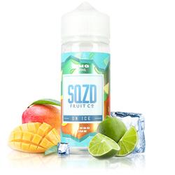 Mango Lime On Ice 100ml - SQZD