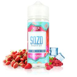 Strawberry Raspberry On Ice 100ml - SQZD