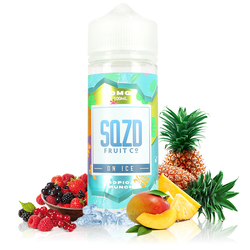 Tropical Punch On Ice 100ml - SQZD