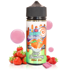 Horny Sour Strawberry Bubblegum - Horny Flava