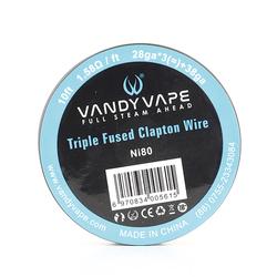 Triple Fused Clapton - Vandy vape