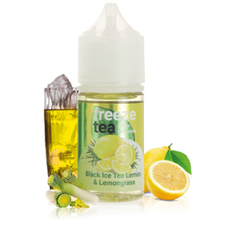 Concentré Black Ice Tea Lemon & Lemongrass 30ml - Freeze Tea