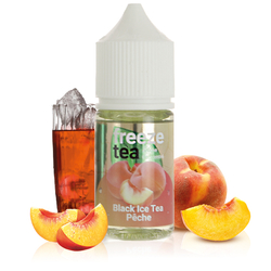 Concentré Black Ice Tea Pêche 30ml - Freeze Tea