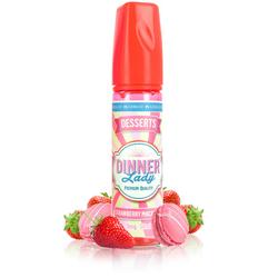 Strawberry Macaroon 50ml - Dinner Lady