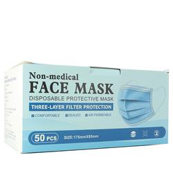 Masques jetables - Lot de 50