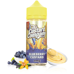 Blueberry Custard 100ml - The Custard Company
