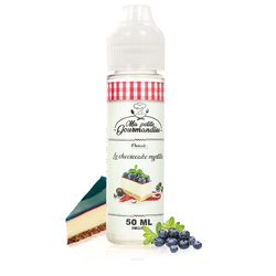 Le Cheesecake Myrtille 50ml - Ma Petite Gourmandise