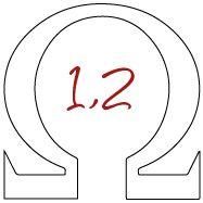 Résistance intégrée 1,2ohm