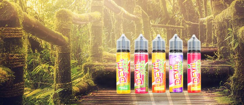 E-liquide DOUBLE MANGUE 50ML – Devil Squiz