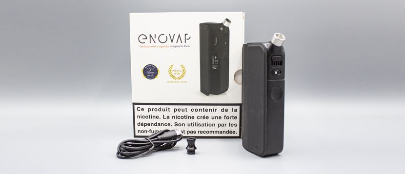 """Composition du kit Enovap Plus """"Black Edition"""""""