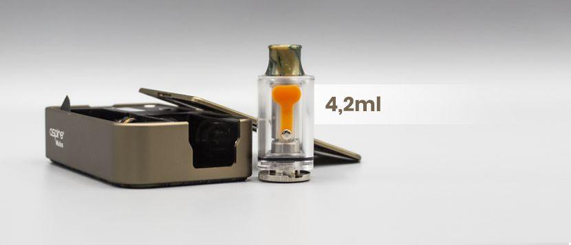 Une cartouche polyvalente dans le kit Mulus 80W