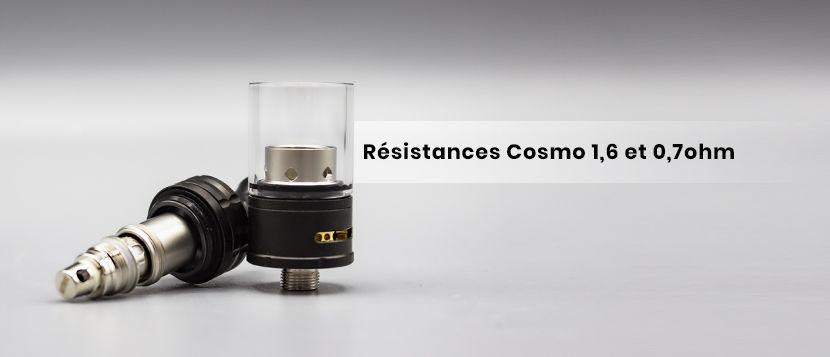 Deux résistances pour deux galaxies de sensations