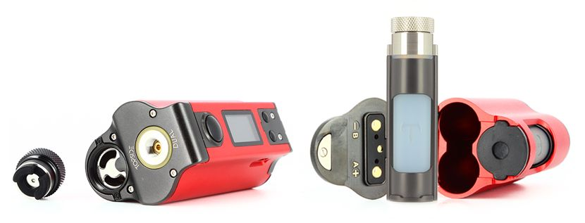 Système Top-fill Squonk
