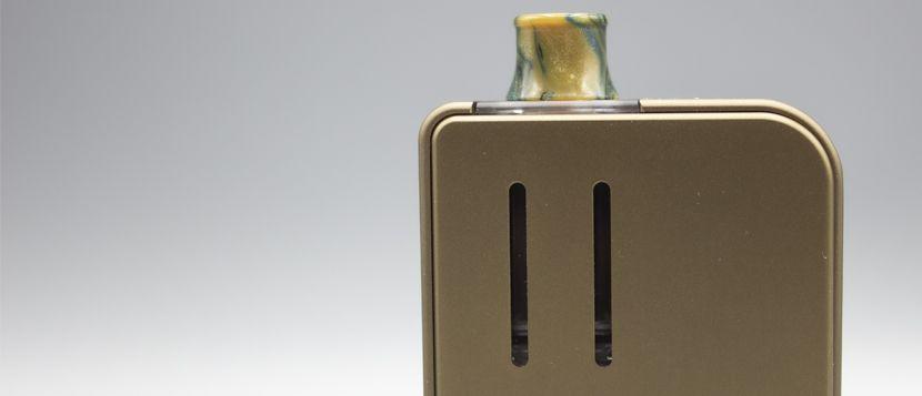 Vue royale sur le niveau d'e-liquide restant